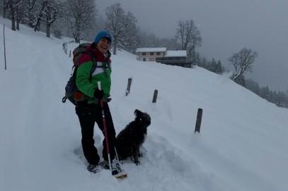 Schneeschuhwandern Schwarzwaldalp